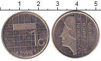 Изображение Монеты Нидерланды 1 гульден 1998 Медно-никель XF