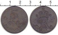 Изображение Монеты Дания 5 эре 1958 Цинк XF