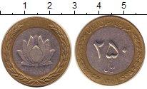 Изображение Монеты Иран 250 риалов 2002 Биметалл XF