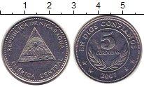 Изображение Монеты Никарагуа 5 кордоба 2007 Сталь XF
