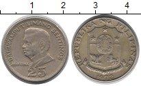 Изображение Монеты Филиппины 25 сентим 1972 Медно-никель XF