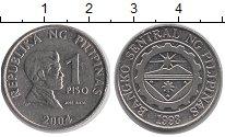 Изображение Монеты Филиппины 1 песо 2004 Медно-никель XF