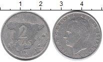 Изображение Монеты Испания 2 песеты 1984 Алюминий XF