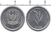 Изображение Монеты Руанда 1 франк 2003 Алюминий UNC-