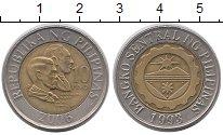 Изображение Монеты Филиппины 10 песо 2006 Биметалл XF