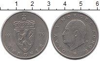 Изображение Монеты Норвегия 5 крон 1979 Медно-никель XF- Олаф V