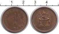 Изображение Монеты Родезия 1 цент 1977 Бронза XF+