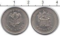 Изображение Монеты Родезия 5 центов 1976 Медно-никель XF