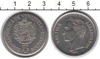 Изображение Монеты Венесуэла 5 боливар 1989 Медно-никель UNC-