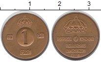 Изображение Монеты Швеция 1 эре 1970 Бронза XF