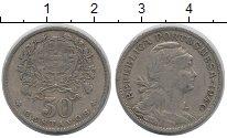 Изображение Монеты Португалия 50 сентаво 1940 Медно-никель XF-