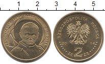 Изображение Монеты Польша 2 злотых 2014 Латунь UNC-