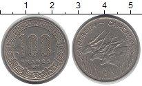 Изображение Монеты Камерун 100 франков 1973 Медно-никель XF
