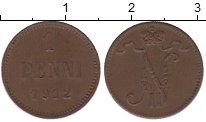 Изображение Монеты 1894 – 1917 Николай II 1 пенни 1912 Медь