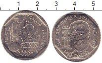Изображение Барахолка Франция 2 франка 1995 Медно-никель VF+