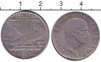 Изображение Барахолка Италия 50 сентесим 1941 Медно-никель XF-