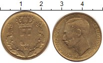 Изображение Дешевые монеты Люксембург 5 франков 1987 Бронза XF-