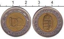 Изображение Барахолка Венгрия 100 форинтов 1997 Биметалл XF-