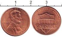 Изображение Барахолка США 1 цент 2013 Латунь-сталь XF