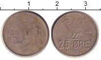 Изображение Дешевые монеты Норвегия 25 эре 1969 Медно-никель VF