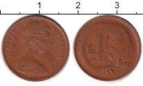 Изображение Дешевые монеты Австралия 1 цент 1960 Бронза VF+
