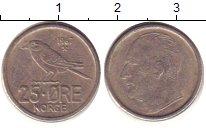 Изображение Дешевые монеты Норвегия 25 эре 1967 Медно-никель VF