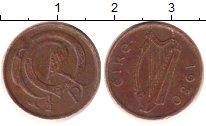 Изображение Барахолка Ирландия 1/2 пенни 1980 Медь VG