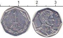 Изображение Дешевые монеты Чили 1 песо 2013 Медно-никель XF
