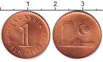 Изображение Дешевые монеты Малайзия 1 сен 1988 Бронза UNC-