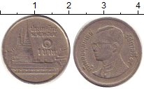 Изображение Дешевые монеты Таиланд 1 бат 1990 Медно-никель XF-