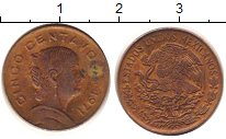 Изображение Дешевые монеты Мексика 5 сентаво 1971 Бронза VG