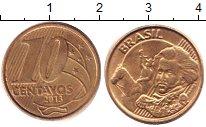 Изображение Дешевые монеты Бразилия 10 сентаво 2013
