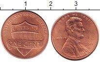 Изображение Барахолка США 1 цент 2011 Медь VF