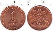 Изображение Барахолка Тринидад и Тобаго 1 цент 1971 Медь XF