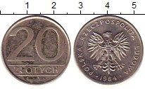 Изображение Дешевые монеты Польша 20 злотых 1984 Медно-никель XF-