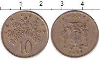 Изображение Барахолка Ямайка 10 центов 1975 Медно-никель VF-