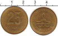 Изображение Дешевые монеты Аргентина 25 сентаво 2009 Медно-никель XF-