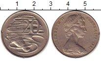 Изображение Барахолка Австралия 20 центов 1981 Медно-никель XF-