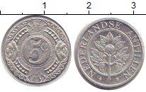 Изображение Барахолка Антильские острова 5 центов 1990 Алюминий VF+