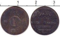 Изображение Дешевые монеты Швеция 1 эре 1980 Медь VF-