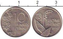 Изображение Барахолка Финляндия 10 пенни 1990 Медно-никель XF