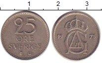 Изображение Дешевые монеты Швеция 25 эре 1973 Медно-никель XF