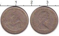 Изображение Барахолка Карибы 10 центов 1986 Медно-никель Fine