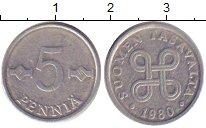 Изображение Дешевые монеты Финляндия 5 пенни 1980 Алюминий VF+