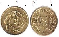 Изображение Барахолка Кипр 1 фунт 2004 Латунь XF