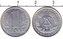 Изображение Дешевые монеты ГДР 1 пфенниг 1968 Никель XF