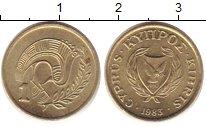 Изображение Барахолка Кипр 1 милc 1983 Медно-никель XF