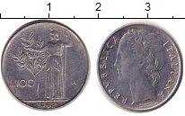 Изображение Дешевые монеты Италия 100 лир 1992 Железо VF