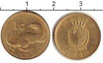Изображение Дешевые монеты Мальта 1 цент 1991 Медно-никель XF+