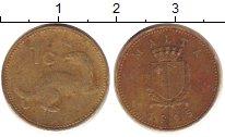 Изображение Дешевые монеты Мальта 1 цент 1995 Медно-никель VG